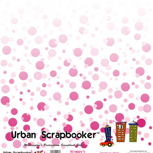 Scrappy's Home  Scrapbook Paper pg 112 x 12 inch